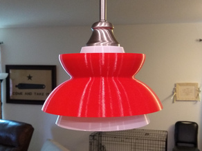 Dan's Hamburgers inspired lamp shade...