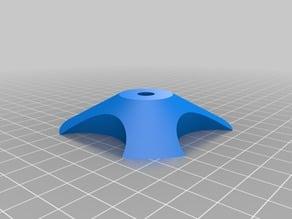 My Customized Parametric universal spool holder 80mm