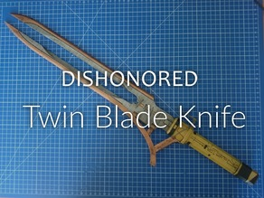 Dishonored Death of the Outsider Twin Blade Knife