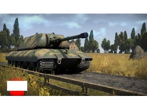 E-100 Tiger-Maus turret with 15cm gun and fg1250