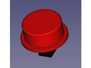 TC-1212T Push Button Cap 12mm