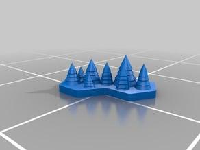 LotP - Terrain - Forest (2 hex)