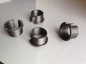 Conduit Bushing for MPCNC 25mm OD