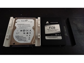 """2.5"""" HDD/SSD Drive Caddy for 3.5"""" Bays"""