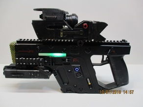 XRAD'S REAL LASER BLASTER WITH LIDAR SCANNER