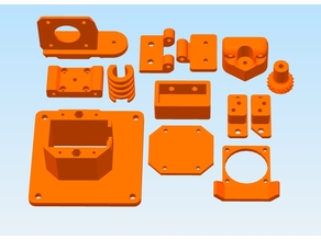 my BLV MGN Cube Parts