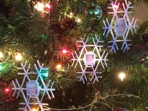 Snowflake Picture Frame Ornament