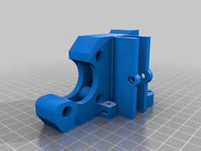 Customisable Prusa I3 X Axis Part Geeetech Based