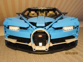 LEGO BUGATTI CHIRON servo_motorized
