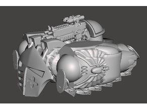 Totally Accurate Space Marine Razorback for 40k