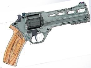 Chiappa Rhino 60D Revolver mockup