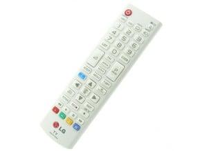 LG TV remote battery cover / Mando a distancia TV LG