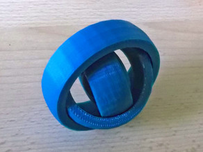 Rotating Rings Toy