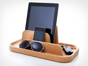 Desk organizer for tablet/Smartphone/Other