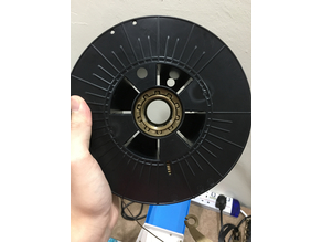 Spool holder bearing