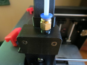 D6/MMU cable clip head cap with push-fit connector