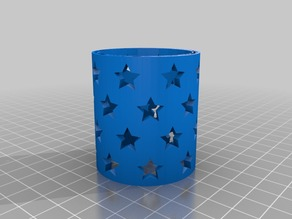 LED Star Lamp / Light =w= CR2032 Battery Holder