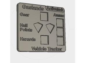 Gaslands Vehicle Dice Dashboard