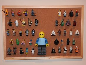 Lego pin for corkboards