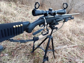 Rifle Rest / Cradle for Tripod - Hunting
