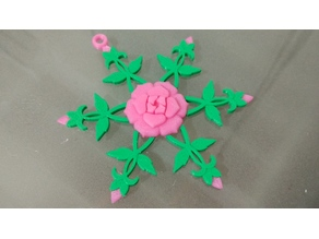 Rose Snowflake