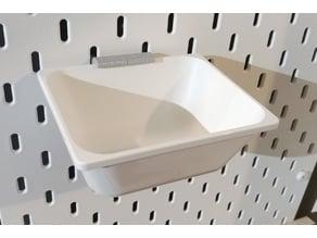 Ikea Skadis to Variera Box Adapter