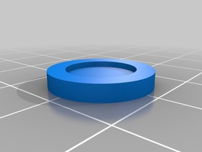Recessed Base for 15mm Miniatures