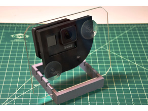 GoPro Hero7 Black Window Corner Adapter