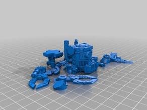 KillaKan Alternative split for easier printing