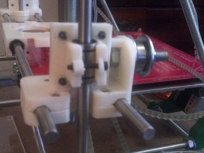 LM8UU bearing mounts for Aleph Objects (AO) X Idler