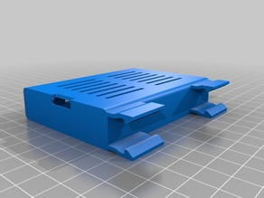 Remixed rapberry pi mounts on aluminum extrusion w/heatsink option