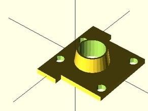 SeeMeCNC H1 triple bearing cover upgrade
