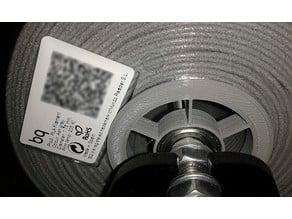 rueda filamento PLA bq
