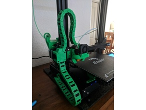 Ender-3 Gantry mounted cable chain