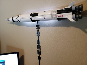 Lego Saturn V Mounts