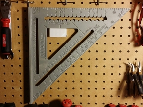 Pegboard Square Holder