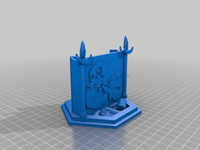 D&D Initiative Tracker Stand
