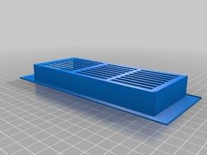 Filter pad holder for imagitarium pro 3.7G aquarium