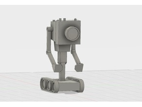 Butter Robot from Rick and Morty - STEP files