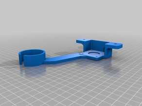 CR-10 Z damper and Mosaic Scroll Wheel Mount Combo