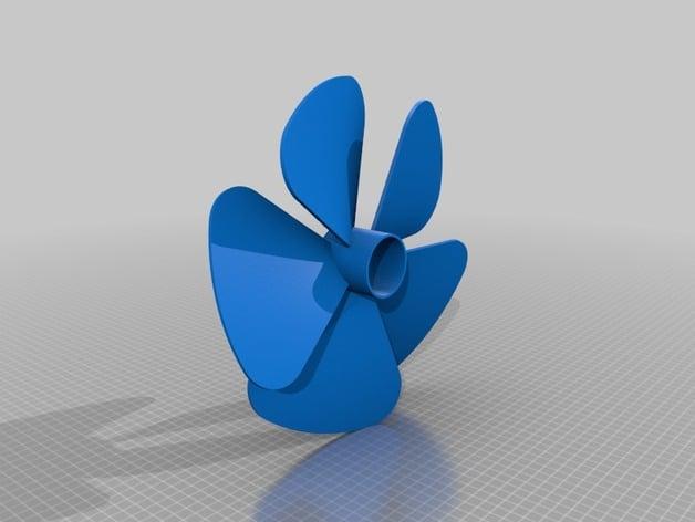 fusion 360 propeller by abuzaidalam - Thingiverse