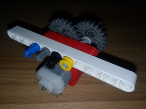 small engine houseing compatible with lego technics