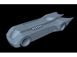Animated Series Bat-Mobile
