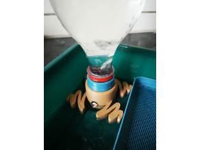 Xoodo Frög - Bottle adapter for converting basins into microgreens trays