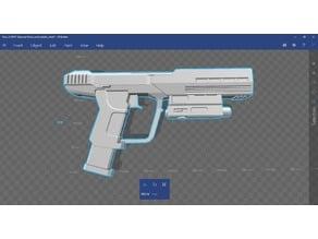 Halo 3 ODST Pistol