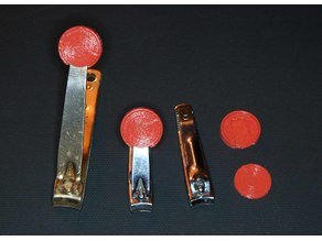 Nail Clipper Button
