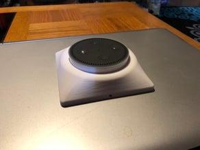 Echo Dot Wall Mount for 2-gang bracket/box