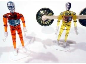 Micronauts Stand Base