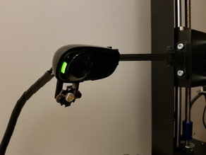 Anycubic i3 Mega c270 webcam LED mount
