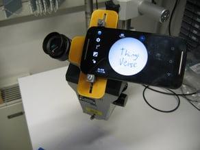 Rudimentary phone / microscope ocular adapter (31-34mm OD)